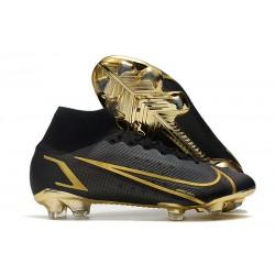 Nike Zapatillas Mercurial Superfly 8 Elite FG Negro Oro