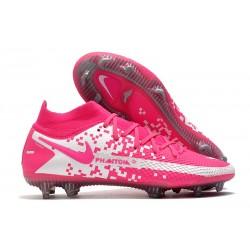 Nike Zapatos Nuevo Phantom GT Elite DF FG Rosa Blanco