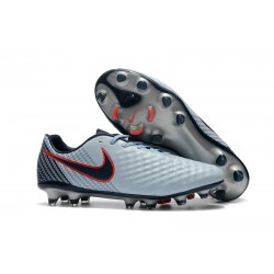 Nike Magista Opus Ii Tc Fg Botas de Fútbol para Hombre - Gris