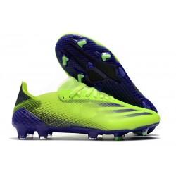 adidas X Ghosted.1 FG Zapatillas de fútbol Hombre Verde Tinta Energía