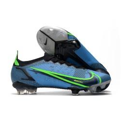 Nike Bota Mercurial Vapor 14 Elite FG Azul Negro Verde