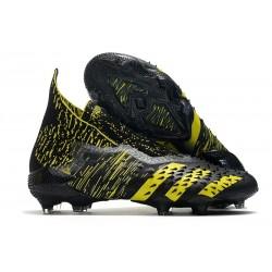 Zapatillas adidas Predator Freak+ FG Negro Amarillo