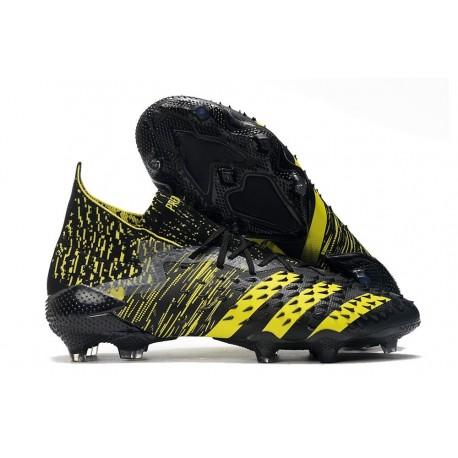 Bota adidas Predator Freak.1 FG Negro Amarillo
