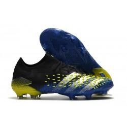 Bota adidas Predator Freak.1 Low FG Azul Negro Blanco Amarillo Solar
