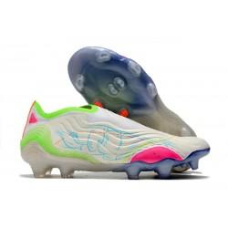 Zapatillas de Fútbol adidas Copa Sense + FG Blanco Amarillo Rosa