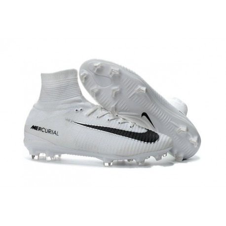Futbol Blanco Fit Mercurial Fg Negro Zapato De 5 Dynamic Superfly Nike Fq1Ep7