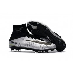 Nike Zapato de futbol Mercurial Superfly 5 Dynamic Fit FG - Metal Negro