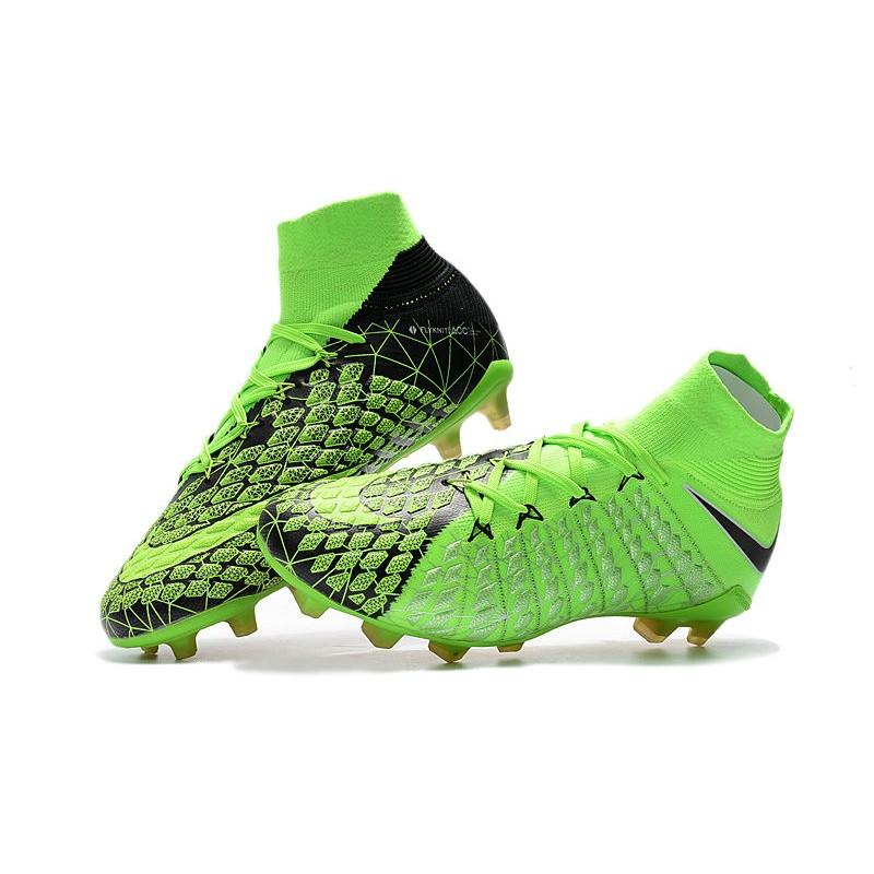 new product 9a137 c8a3f ... verde negro volt a50b1 84f5d top quality botas de futbol nike  hypervenom phantom 3 df fg ada43 837b7 ...