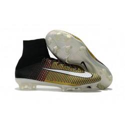 Nike Mercurial Superfly V FG Botas de Fútbol Hombres - Amarillo Negro