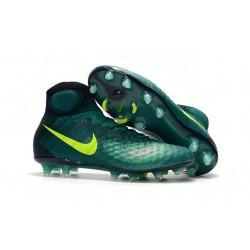 Nike Magista Obra 2 FG Zapatos de Futbol -Verde