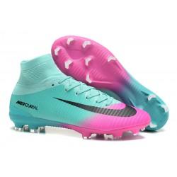Zapatillas de Fútbol Nike Mercurial Superfly V DF FG - Azul Rosa