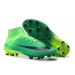 Zapatillas de Fútbol Nike Mercurial Superfly V DF FG - Verde Negro