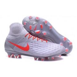 Nike Magista Obra 2 FG Zapatos de Futbol -Blanco Naranja