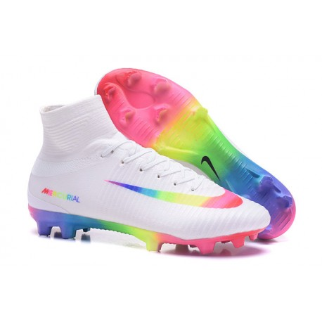 1f9cd3e50b1d9 Nuevo zapatos de fútbol nike mercurial superfly blanco vistoso jpg 458x458 Mercurial  superfly para zapato fútbol