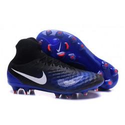 Nike Magista Obra 2 FG Zapatos de Futbol - Azul Oscuro