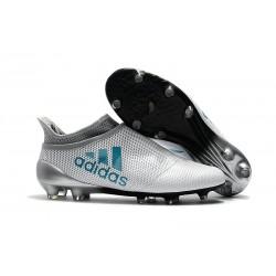 Bota de Fútbol adidas X 17+ Purespeed FG - Blanco