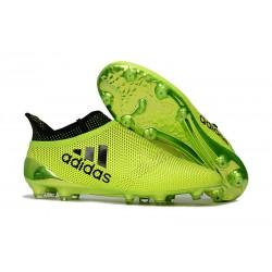 Bota de Fútbol adidas X 17+ Purespeed FG -Amarillo