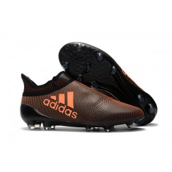 Bota de Fútbol adidas X 17+ Purespeed FG -Marrón