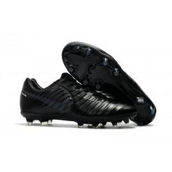Nike Tiempo Legend VII FG Canguro Botas de Futbol - Negro