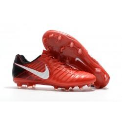 Nuevo Botas de Fútbol Nike Tiempo Legend 7 FG - Rosso Blanco
