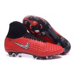 Nike Nuevo Botas de Futbol Magista Obra 2 FG - Rojo