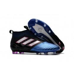Bota de Fubol adidas Ace 17 + Purecontrol FG - Azul Negro