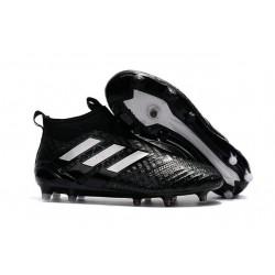 Bota de Fubol adidas Ace 17 + Purecontrol FG - Negro Blanco
