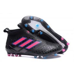 adidas Ace 17 + Purecontrol FG Zapatos de futbol Negro Rosa