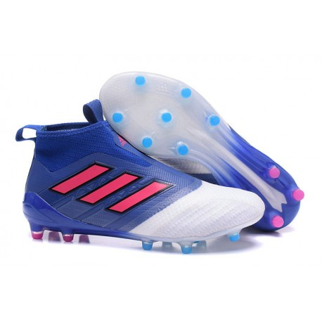 official photos ba1e4 1dc1c adidas Ace 17 + Purecontrol FG Zapatos de futbol Azul Rojo