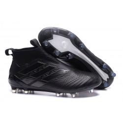 Zapatillas adidas de Futbol Ace 17 + Purecontrol FG - Negro