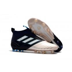 Zapatillas adidas de Futbol Kith Ace 17 + Purecontrol FG - Oro Negro