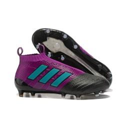 Adidas ACE 17+ Purecontrol Botas de fútbol de tierra firme Violeta Negro