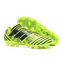 Bota de fútbol adidas Nemeziz Messi 17+ 360 Agility FG - Verde Negro