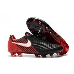 Nike Magista Opus Ii Tc Fg Botas de Fútbol para Hombre - Negro Rosso