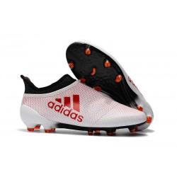 adidas X 17+ Purespeed FG Nuevo Zapatos de fútbol - Blanco Rosso