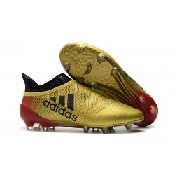 adidas X 17+ Purespeed FG Nuevo Zapatos de fútbol - Oro Negro