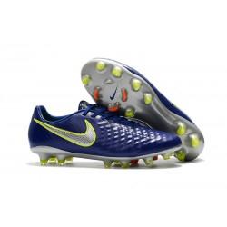 Nike Magista Opus Ii Tc Fg Botas de Fútbol para Hombre - Cian Metal