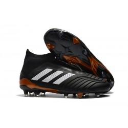 Bota de Fútbol para Hombre Adidas Predator 18+ FG - Negro Blanco