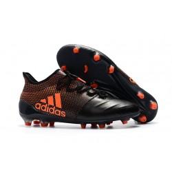 Botas de Fútbol Hombre adidas X 17.1 Fg - Negro Naranja