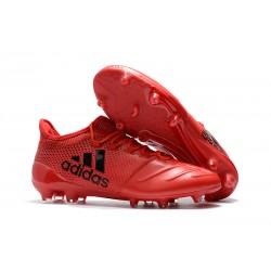 adidas X 17.1 Fg Nuevo Zapatillas de Futbol - Rosso Negro