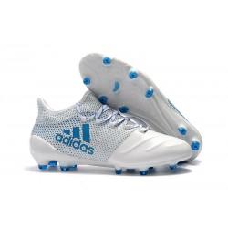 adidas X 17.1 Fg Nuevo Zapatillas de Futbol - Blanco Azul