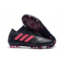 adidas Nemeziz Messi 17.1 FG botas de fútbol para hombre - Negro Rosa