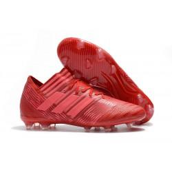 adidas Nemeziz Messi 17.1 FG botas de fútbol para hombre - Rojo