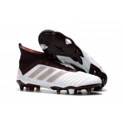 Botas de Fútbol Adidas Predator 18.1 Fg para Hombre - Blanco Marrón