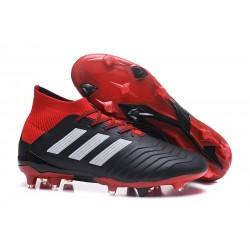 Botas de Fútbol Adidas Predator 18.1 Fg para Hombre - Negro Rojo Blanco