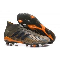 Botas de Fútbol Adidas Predator 18.1 Fg para Hombre - Verde Naranja Negro