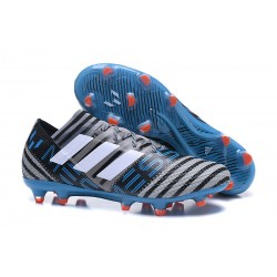 adidas Nemeziz Messi 17.1 FG botas de fútbol para hombre - Azul Gris Negro