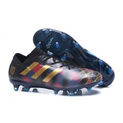 adidas Nemeziz Messi 17.1 FG botas de fútbol para hombre - Negro Or