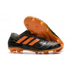 adidas Nemeziz Messi 17+ 360 Agility FG Zapatillas de Futbol - Negro Naranja