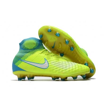 detailed look 669c8 c251b Nuevo Zapatos de Futbol Nike Magista Obra II FG - Amarillo